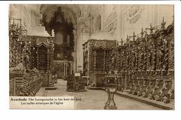 CPA - Carte Postale -BELGIQUE -Averbode -Stalles Artistiques De L'église -1928- S3261 - Scherpenheuvel-Zichem