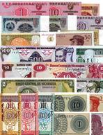 ** Lot De 22 Billets Tous Différents Et UNC ( Lot 2 ) ** - Monnaies & Billets