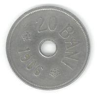 ROUMANIE - ROMANIA - 20 BANI 1906 - Roumanie