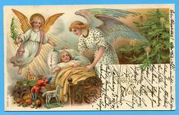 Natale Noel Weihnachten Christmas Anges Engeln Angels Enfant Jouets - Angeli