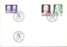 Stockolm 1973 Nobelpristagare  Cover   (NOV180020) - Svezia