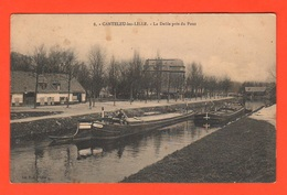 Lille Ryse Péniches Sur La Rivière  Deûle Prè Du Port Cpa 1914 - Frankreich