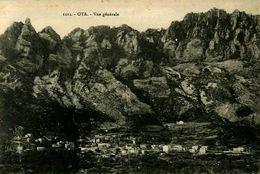 Cpa CORSE - OTA 2A Vue Générale - France