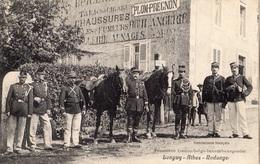LONGWY ATHUS RODANGE FRONTIERE FRANCO BELGE LUXEMBOURGEOISE GENDARMES - Frankreich