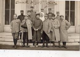 TROUVILLE CARTE PHOTO HOPITAL MILITAIRE EN 1915 - Trouville