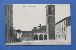 Cartolina Rieti - La Cattedrale - 1922 - Rieti