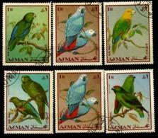 AJMAN      Vögel - Archäologie