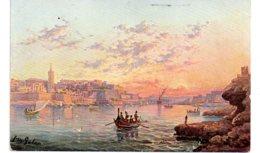 Malta - Quarantine Harbour And Valetta-voir état - Malta