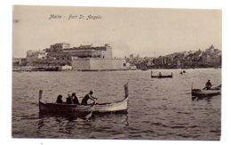 Malta - Fort St Angelo-voir état (point à Gauche) - Malta