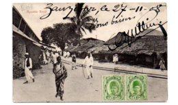 Zanzibar - Mgambo Road-voir état - Postcards