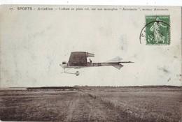 27 AB CPA Monoplan Antoinette Piloté Par Latham - Aviateurs