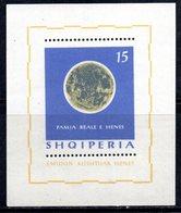 601/1500A - ALBANIA 1964 , BF Yvert N. 6L (Michel 24) ***  MNH - Albania