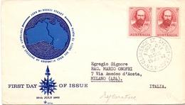 AUSTRALIA FDC  JONN MC. BOUALE STUART 1962 SYDNEY (NOV180026) - Archeologia