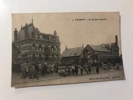 Carte Postale Ancienne (1912) FAUMONT La Brasserie DESPREZ - France