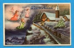 Noel Weihnachten Christmas Anges Engeln Angels (with Glitter) - Angeli