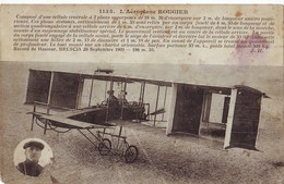 31  AB CPA Aéroplane Rougier - Aviateurs