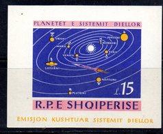 606/1500A - ALBANIA 1964 , BF Yvert N. 6N (Michel 28) ***  MNH NON DENTELLATO - Albania