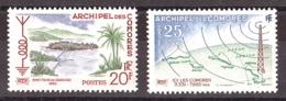 Comores - 1960 - N° 17 Et 18 - Neufs ** - Radiodiffusion - Unused Stamps