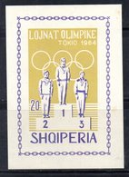 607/1500A - ALBANIA 1964 , BF Yvert N. 6M (Michel 26) ***  MNH - Albania
