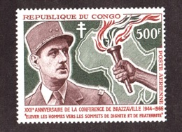 Congo - 1966 - PA N° 38 - Neuf ** - Général De Gaulle - Congo - Brazzaville