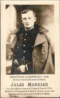 """Viane  """"- 1915- Bois-D'Acren """" - Jules Monier - Soldaat - Images Religieuses"""