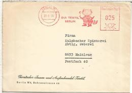 ALEMANIA BERLIN DDR 1964 DIA TEXTIL - Textile