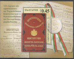 BG 2004 CONSTITUTION, BULGARIA, S/S, MNH - Bulgarien