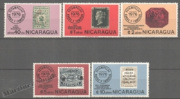 Nicaragua 1976 Yvert Airmail 887-91, Rare Stamps - MNH - Nicaragua