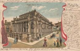Malta - Royal Opera House - Litho - Malta