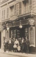 France - Paris - 1910 - Cafe Bar Marigny - Publicite - Cafés, Hôtels, Restaurants