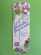"""Carte Parfumée - Parfum """"Violette Impériale"""" De J. Lamotte - Paris Marseille - Années 1920 - Perfume Cards"""