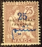 1921 Maroc Y&T 45 . Type Mouchon  / French Protectorate / Neuf - Maroc (1891-1956)