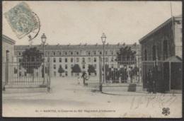 CPA - NANTES - La Caserne Du 65è Régiment D'infanterie - Edition M.T.I.L. - Nantes