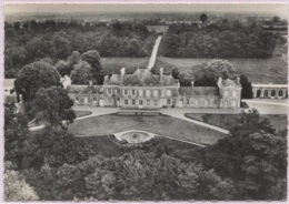 CPSM - ST GEORGES S/LAYON - Chateau Des Mines - En Avion Au Dessus De ... - Edition Lapie - Autres Communes