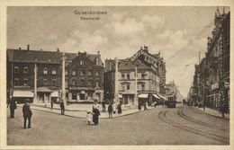 GELSENKIRCHEN, Neumarkt, Strassenbahn (1920s) AK - Gelsenkirchen
