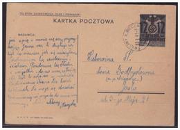 GG (005196) Ganzsache Aufbrauchsausgabe P3II Gelaufen - Besetzungen 1938-45