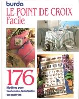 Le Point De Croix Facile Catalogue Burda De 1971 - Cross Stitch