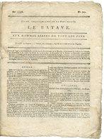 JOURNAL LE BATAVE 1795. AUX HOMMES LIBRES DE TOUS LES PAYS. - Journaux Anciens - Avant 1800