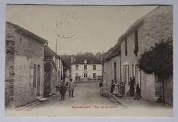 CPA Bossancourt, Aube, Rue De La Mairie, 1905, Cachet Date Bar-sur-Aube - éditeur Noël - France