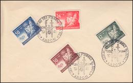 Generalgouvernement 59-62 Winterhilfe Auf Blanko-Umschlag SSt RADOM 20.4.1941 - Besetzungen 1938-45