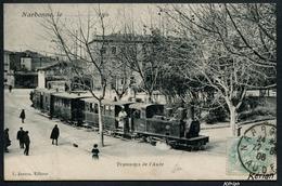 Narbonne - Tramways De L'Aude - Edit. Janson - Voir 2 Scans - Narbonne