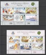 P840 TRISTAN DA CUNHA TRANSPORT SHIPS 500TH ANNIVERSARY PART 1,2 #871-82 !!! MICHEL 23 EURO !!! 2SH MNH - Barcos
