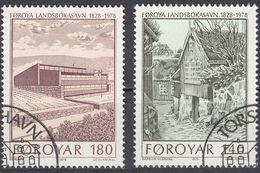 FØROYAR - 1978 - Serie Completa Usata: Yvert 33/34 Per Complessivi 2 Valori. - Emissioni Locali