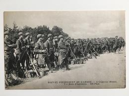 AK Franzosische Soldaten Miltaire Francais Uniform Soldat Nouvel Equipement Armee Infanterie Uniform - Ausrüstung