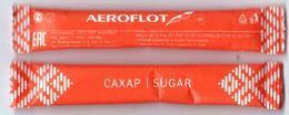Russia 2018 1 Sugar Aeroflot Russian Airlines - Sucres