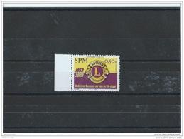 SPM 2003 - YT N° 808 NEUF SANS CHARNIERE ** (MNH) GOMME D'ORIGINE LUXE - Nuevos