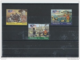 MALAYSIE 2008 - YT N° 1278/1280 NEUF SANS CHARNIERE ** (MNH) GOMME D'ORIGINE LUXE - Malaysia (1964-...)