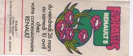 Dépliant Publicitaire à 3 Volets/Floralies Renault 5/Evreux La Madeleine/Il Y A Maintenant 6 Renault 5 /Vers 1976  AC145 - Cars