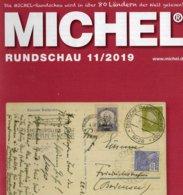 Briefmarken Rundschau MICHEL 11/2019 Neu 6€ Stamps Of The World Catalogue/magacine Of Germany ISBN978-3-95402-600-5 - Tedesco