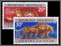 Rwanda 0032A33A** Lutte Contre La Faim  MNH Cote 210 - Rwanda
